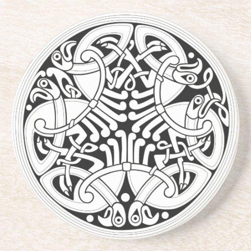 Celtic Circle Beverage Coasters