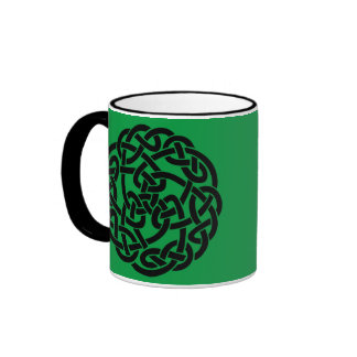 Celtic Circle Ringer Mug