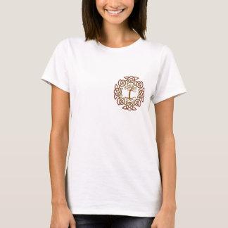 Celtic Circle Tree-Lover's Ladies Shirt