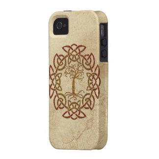 Celtic Circle Viking Tree of Life iPhone 4 Case