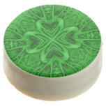 Celtic Clover Kaleidoscope   Dipped Oreo® Cookies