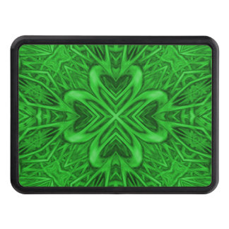 Celtic Clover Kaleidoscope Hitch Cover Receiver