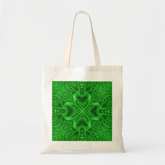 Celtic Clover Kaleidoscope Tote Bags Many Styles