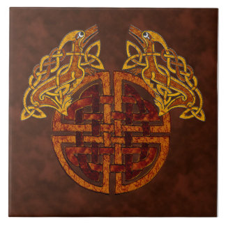 Celtic Collage Ceramic Tile