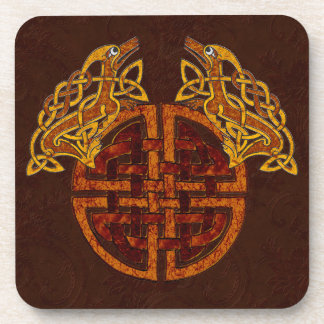 Celtic Collage Beverage Coasters
