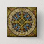 Celtic Compass Button