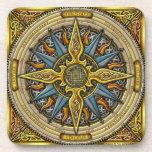 Celtic Compass Coasters