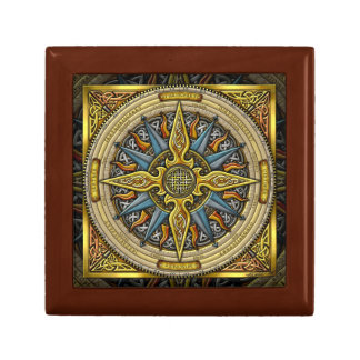 Celtic Compass Gift Gox Trinket Box