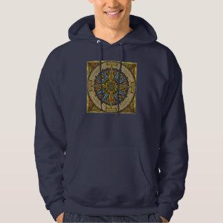 Celtic Compass Hooded Sweatshirt