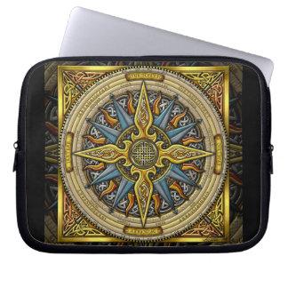 Celtic Compass Laptop Bag Laptop Computer Sleeve