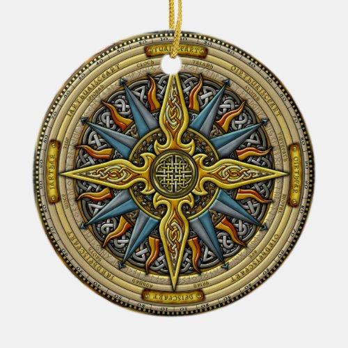 Celtic Compass Ornament