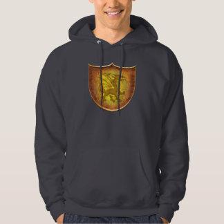 Celtic Copper Dragon Shield Sweatshirt