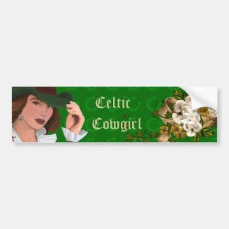 Celtic Cowgirl Collection Bumper Sticker
