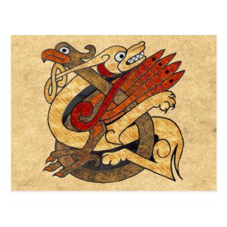 Celtic Creatures Postcard