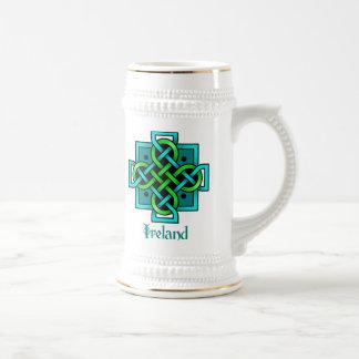 Celtic Cross2 Beer Stein
