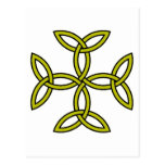Celtic Cross 11 Gold Post Cards