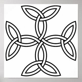 Celtic Cross 11 Poster