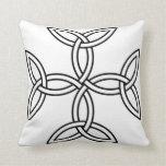Celtic Cross 11 Throw Pillow