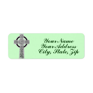 Celtic Cross 1 Return Address Label