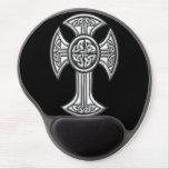 Celtic Cross 2 Black Gel Mouse Pad