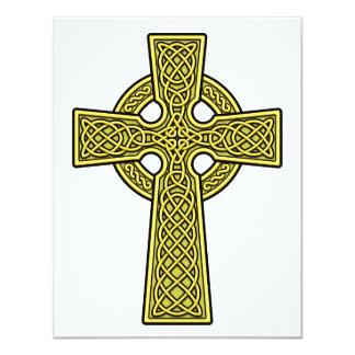 Celtic Cross 2 gold Card