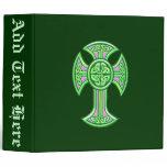 Celtic Cross 2 Green Binder