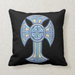 Celtic Cross 2 Throw Pillow