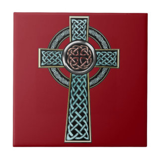 Celtic Cross 2 Tile