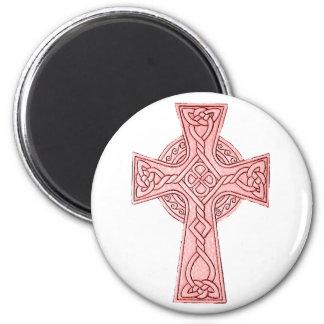 Celtic Cross 3 2 Inch Round Magnet
