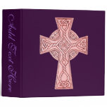 Celtic Cross 3 3 Ring Binder
