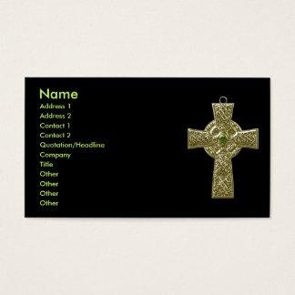 Celtic Cross 3 Business Card