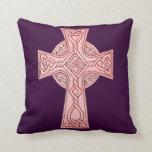 Celtic Cross 3 Throw Pillow