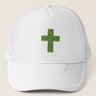 Celtic Cross 3 Trucker Hat