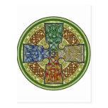 Celtic Cross 4-Color Postcards