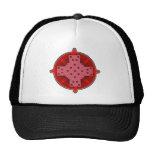 Celtic Cross 4 Red Trucker Hat