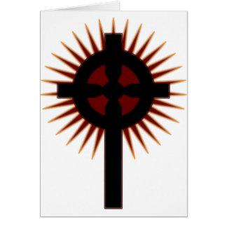 Celtic Cross #5 Greeting Card