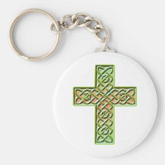 Celtic Cross 5 Keychain