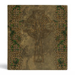 Celtic Cross and Celtic Knots 3 Ring Binder