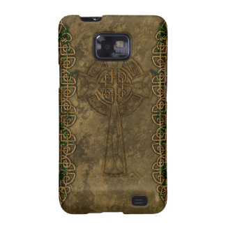 Celtic Cross and Celtic Knots Galaxy S2 Cover
