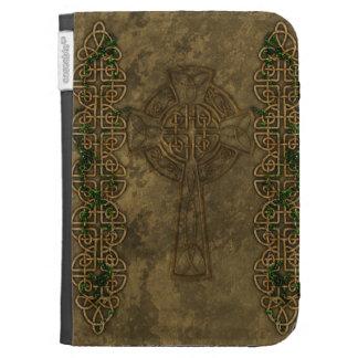 Celtic Cross and Celtic Knots Kindle Folio Cases