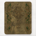 Celtic Cross and Celtic Knots Mouse Pad