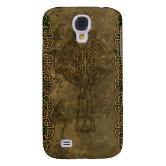 Celtic Cross and Celtic Knots Samsung Galaxy S4 Case