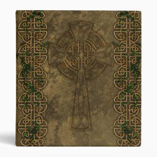Celtic Cross and Celtic Knots Vinyl Binders