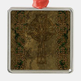 Celtic Cross and Cross Knots Ornaments