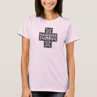 Celtic Cross Black T-Shirt
