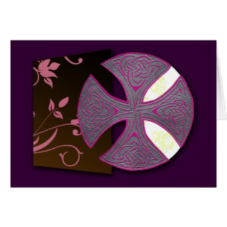 Celtic Cross (Book of Durrow) Card