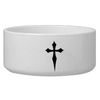 Celtic cross bowl