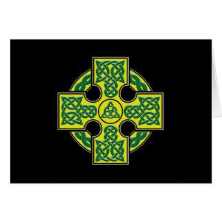 celtic cross btn card