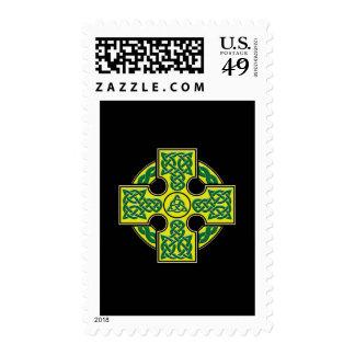 celtic cross btn postage stamp