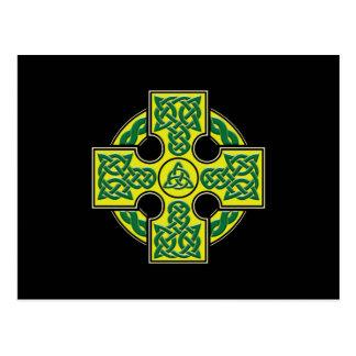 celtic cross btn postcard